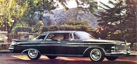 1962 Imperial LeBaron in Formal Black