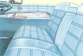 Imperial Crown interior in Cord Blue