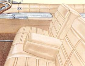 Imperial Crown interior in Gold