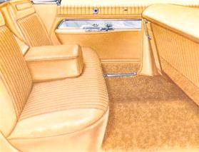 Imperial Custom interior in Gold