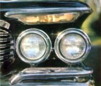 Imperial Headlamp Detail