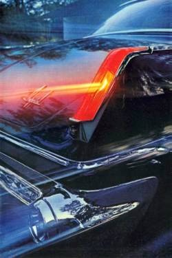 1963 Imperial in Formal Black (right rear tail lamp detail)
