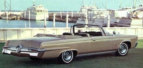Image: 1964 Imperial Crown Convertible