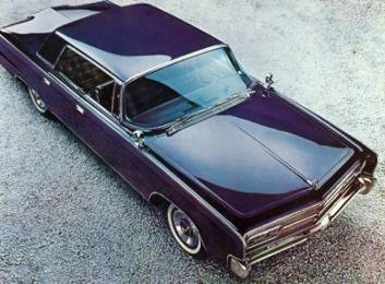 1965 Imperial Crown Four-Door Hardtop in Navy Blue Metallic