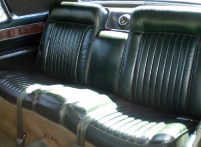 1966 Imperial Crown Dark Green Leather (code M9F)