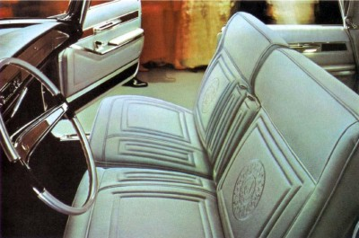 1966 Imperial LeBaron Gray Broadcloth (code H6A)