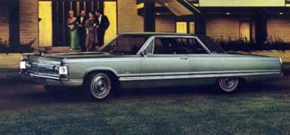 1967 Imperial Optional Equipment