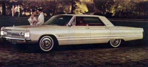 1967 Imperial Crown Four-Door Hardtop