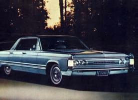 Imperial '67...this is what a luxury car was always meant to be. (LeBaron shown)