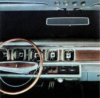 Image: Continental Mark III instrument panel