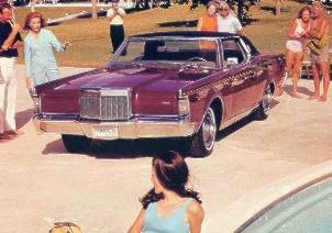 Early production 1969 Continental Mark III