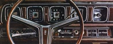 Continental Mark III instrument panel