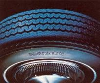 Michelin White Side Wall Steel Belted Radial Ply Tires