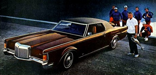 Image: 1971 Continental Mark III