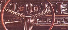 Image: 1971 Continental Mark III instrument panel