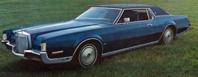 1972 Continental Mark IV without Opera Windows (rare)