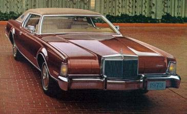 1973 Continental Mark IV