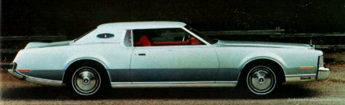 1973 Continental Mark IV with Silver Luxury Group option