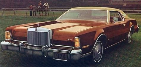 Image: 1974 Continental Mark IV