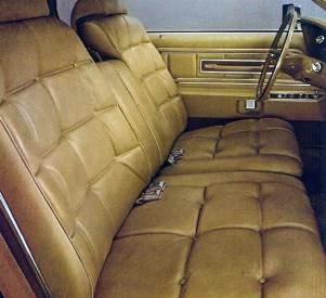 Optional Gold Genuine Leather Seating Surfaces
