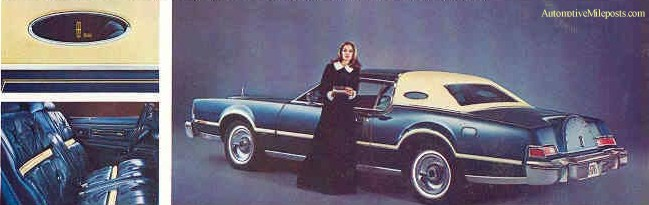 1976 Continental Mark IV Bill Blass Designer Edition
