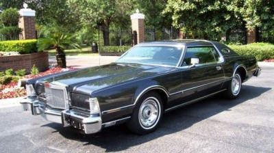 Image: 1976 Continental Mark IV with Black Diamond Luxury Group