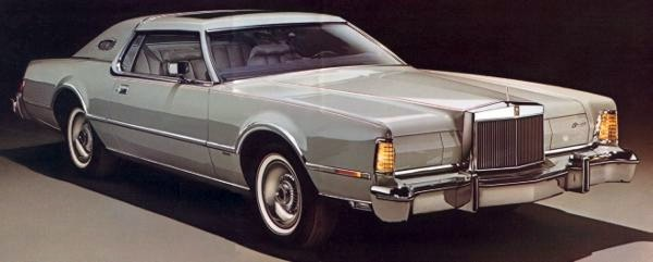 Image: 1976 Continental Mark IV Cartier Designer Edition