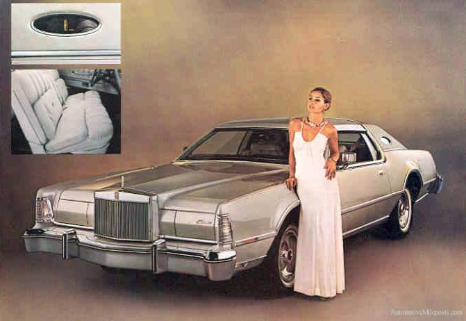 1976 Continental Mark IV Cartier Designer Edition