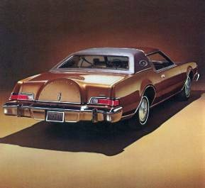 1976 continental mark iv in cinnamon gold moondust