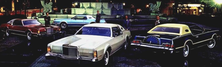 Image: 1976 Continental Mark IV Designer Series cars