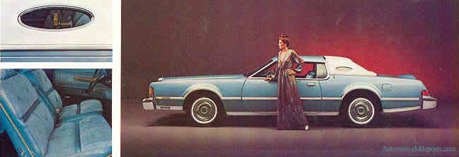 1976 Continental Mark Iv Givenchy Designer Edition