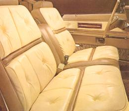 Gold/Cream Luxury Group Option interior trim in leather