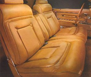 Bill Blass Edition - Chamois Leather interior trim