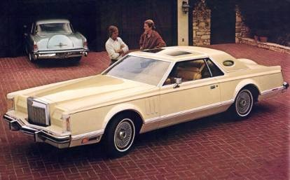 1977 Continental Mark V in Cream