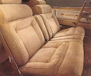 Optional Gold/Cream Luxury Group with Gold Romano Velour interior trim