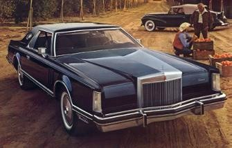 1977 Lincoln Continental Mark V Contents   AUTOMOTIVE MILEPOSTS