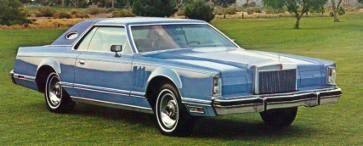1977 Continental Mark V Luxury Group Option in Wedgewood Blue