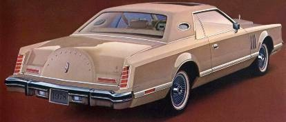 1978 cartier edition continental mark v
