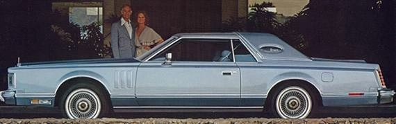 1978 Continental Mark V Production Specifications