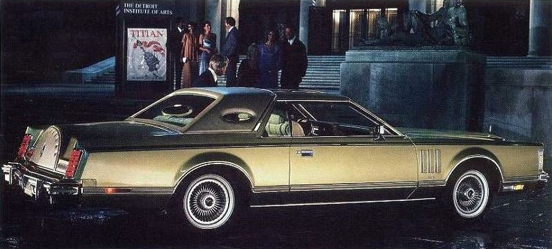 Image: 1978 Continental Mark V Diamond Jubilee Edition