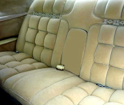 Image: 1978 Continental Mark IV Diamond Jubilee Edition interior
