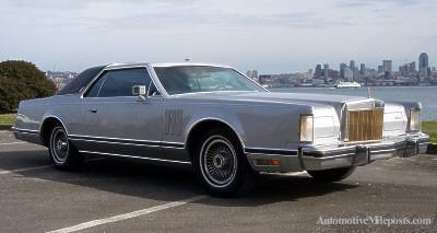 1979 Continental Mark V Collector's Series in Silver (front view) [Photo: eBay]