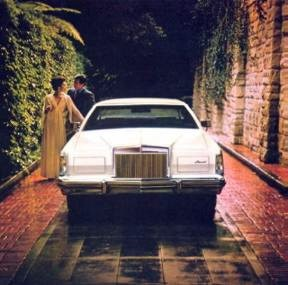 1979 Continental Mark V Collector's Series in White