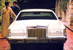 Collector's Series 1979 Continental Mark V in White
