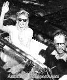 Marilyn Monroe and Arthur Miller - 1956 Thunderbird