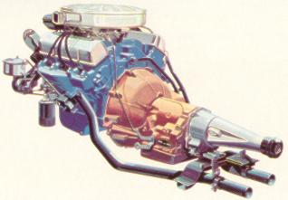 Interceptor Thunderbird 352 Special V-8 Engine