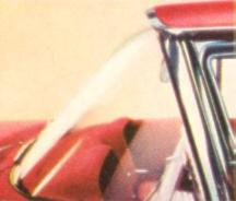 Thunderbird's distinctive visored windshield