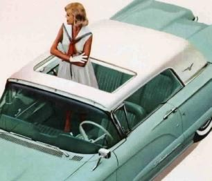 Image: 1960 Ford Thunderbird Sunroof Hardtop
