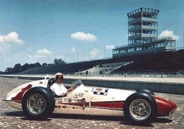 A. J. Foyt's 1961 Indy 500 Race Car
