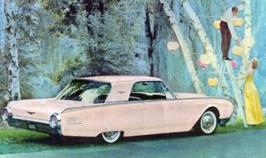 1961 Ford Thunderbird Hardtop shown in Palm Springs Rose